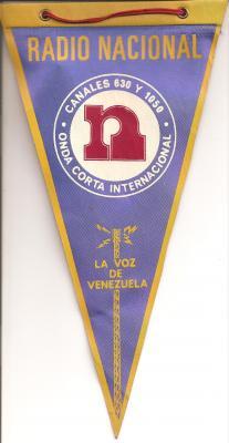 Banderin Radio Nacional de Venezuela