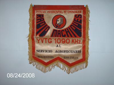 Estandarte Radio Machiques 1090 KHZ