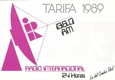 Tarifas Radio Internacional