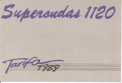 Tarifas Super Ondas 1.120