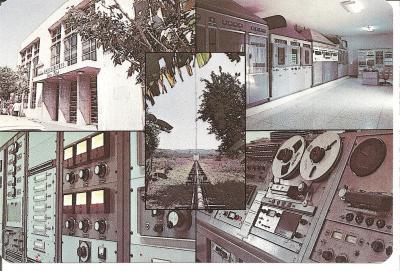 Tarjeta QSL Radio Universo (Anverso)