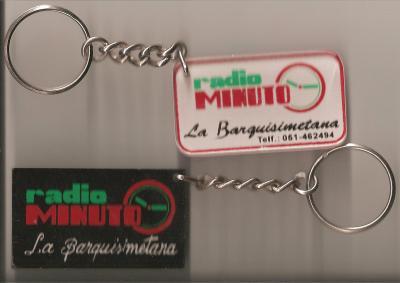 Llavero Radio Minuto.