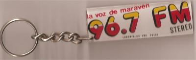 Llavero La Voz de Maraven 96.7 FM