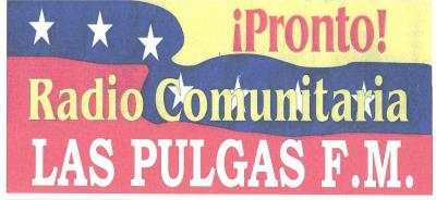 Calcomania Las Pulgas 104.9 FM