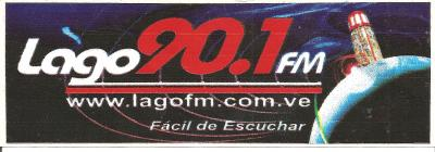 Calcomania Lago 90.1 FM
