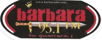 Calcomania Barbara 95.1 FM