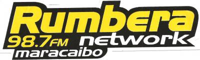 Calcomania Rumbera Network 98.7 FM