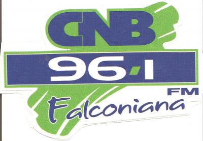 Calcomania 96.1 FM Falconiana