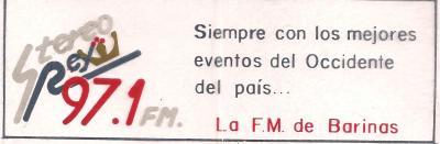 Calcomania Stereo Rey 97.1 FM