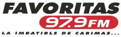 Calcomania Favoritas 97.9 FM